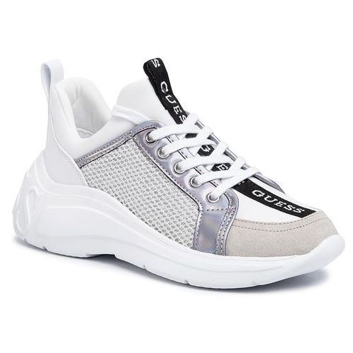 Sneakersy - speerit fl6spt fab12 white, Guess, 35-41