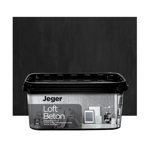 Efekt dekoracyjny loft beton 2 l kolor nr 6 efekt betonu marki Jeger