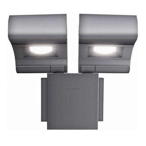 Noxlite led spot grey 2x8w 41014 - oprawa led do oświetlenia zewnętrznego marki Osram