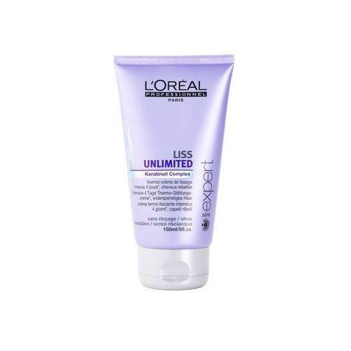 L'oréal professionnel série expert liss unlimited krem wygładzający do włosów nieposłusznych i puszących się (smoothing thermo cream) 150 ml od producenta Pro uhlazení vlasů