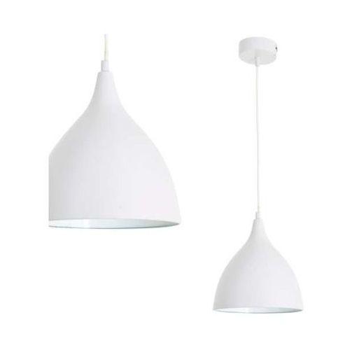 Nowoczesna LAMPA wisząca FANCY 6071623 Nave metalowa OPRAWA skandynawski ZWIS biały, 6071623
