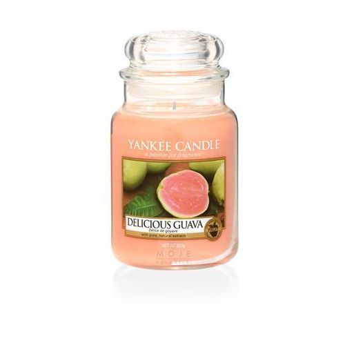 Yankee candle delicious guava 623g duża świeca szybka wysyłka infolinia: 690-80-80-88