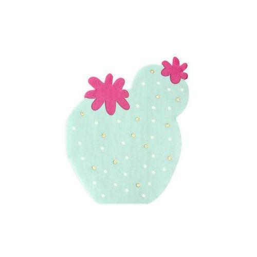 Serwetki papierowe Kaktus - 13,5 cm - 20 szt. (5900779107199)