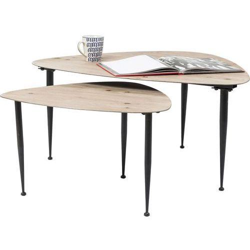 :: zestaw dwóch stolików melange marki Kare design