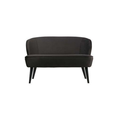 Woood sofa sara velvet antracytowa 340443-a