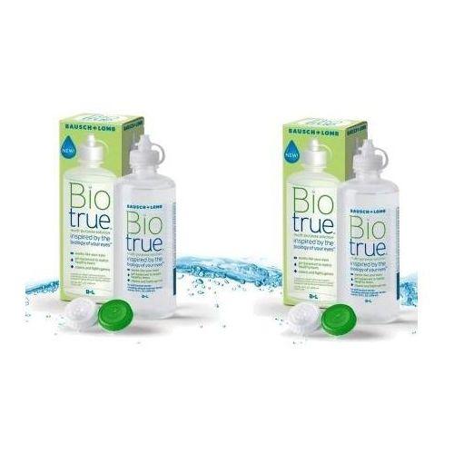 Płyn Biologiczny do soczewek Bio True 2x 300ml z kategorii Płyny pielęgnacyjne