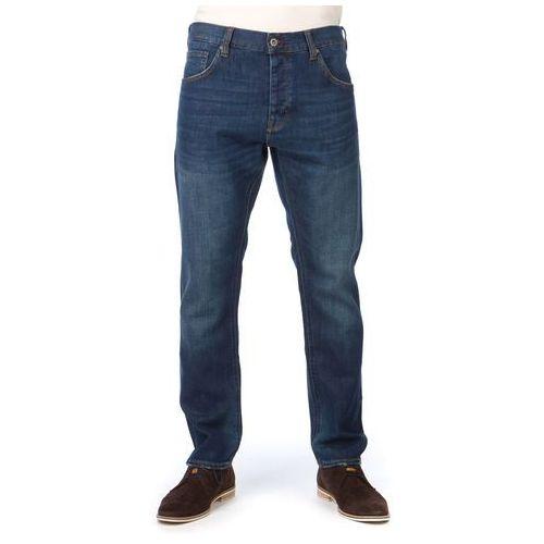 Mustang jeansy męskie Bonneville 33/34 ciemnoniebieski