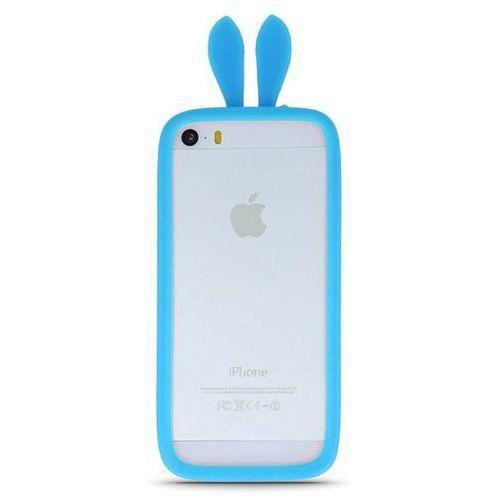 Telforceone Uniwersalny bumper królicze uszy niebieski l (10cm) (5900495427120)