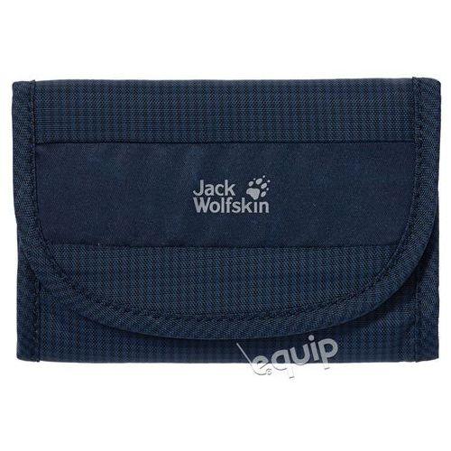 Portfel podróżny Jack Wolfskin Cashbag RFID - night blue