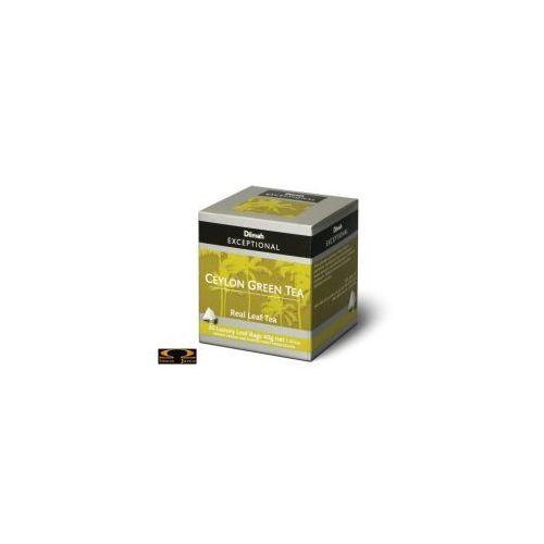 20szt. exceptional herbata cejlońska zielona marki Dilmah