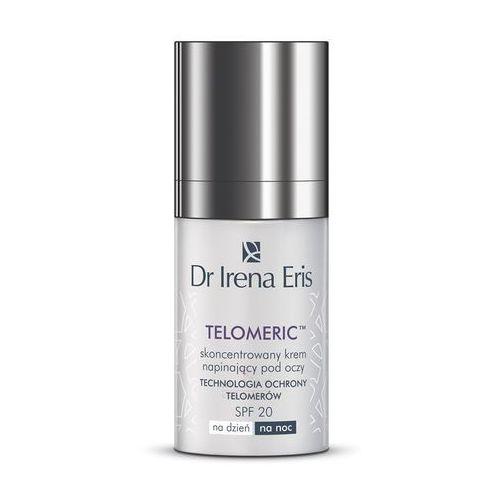Dr Irena Eris Telomeric skoncentrowany krem napinający pod oczy SPF 20 na dzień i/lub noc 60+.