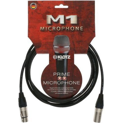 m1fm1n0100 kabel mikrofonowy xlr 1 m marki Klotz