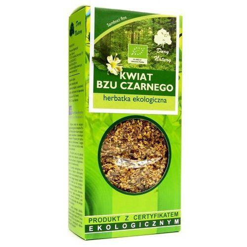 Dary natury - herbatki bio Herbatka z kwiatu bzu czarnego bio 50 g - dary natury