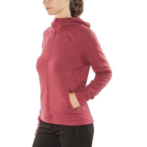 merino kurtka kobiety czerwony l 2018 kurtki wełniane marki Lundhags