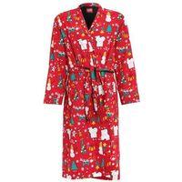 Lousy Livin Underwear MERRY MERRY Szlafrok red, kolor czerwony