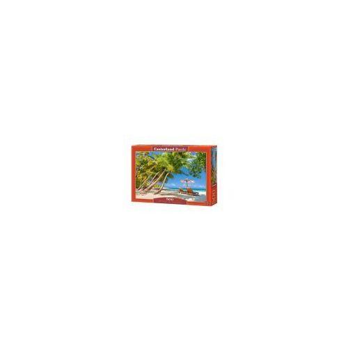 Castor Puzzle 500 elementów - wolny czas w raju - poznań, hiperszybka wysyłka od 5,99zł!