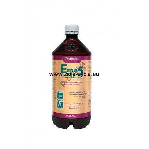 Probiotics Ema5 z wrotyczem 1 litr - specjalnie przygotowana kompozycja mikroorganizmów -