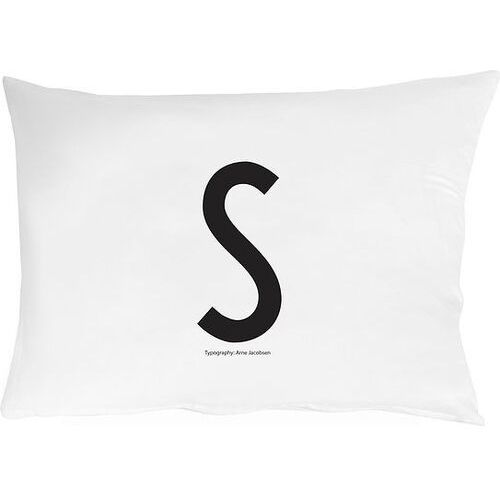 Design letters Poszewka na poduszkę arne jacobsens vintage abc litera s (5710498749286)