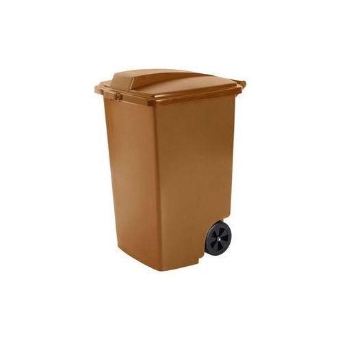 Kosz zewnętrzny na śmieci 100l brązowy marki Curver