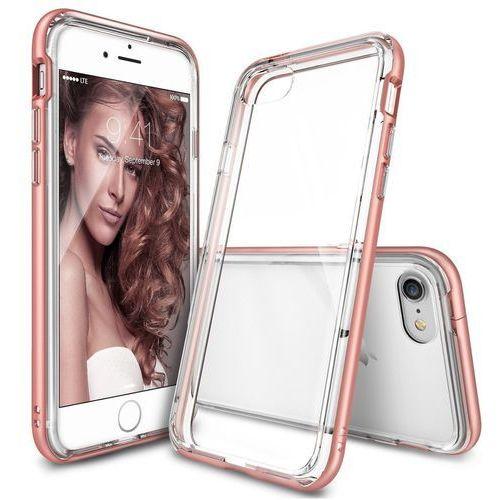 ringke frame rose gold | obudowa + folia ochronna dla modelu apple iphone 7 - rose gold marki Rearth