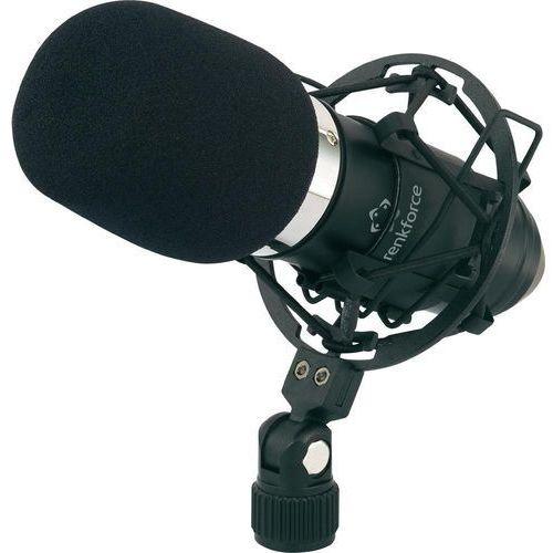 Renkforce Mikrofon studyjny  at-100, 200 om, xlr