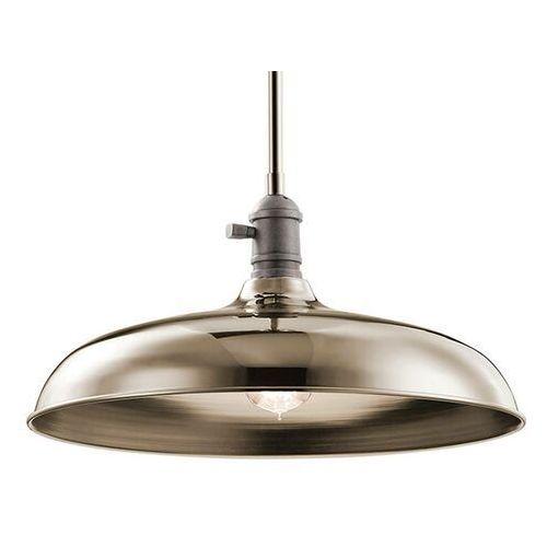 Lampa wisząca Cobson Ø 40,7 cm nikiel polerowany (5024005295013)