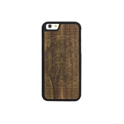 Apple iPhone 6 - etui na telefon Wood Case - Kalendarz Aztecki - limba