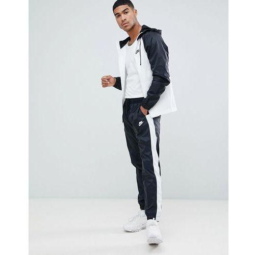 Nike colour block tracksuit set in black 928119-011 - black