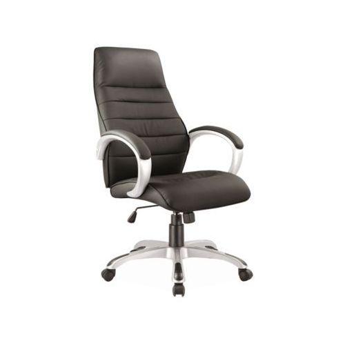 Fotel obrotowy, krzesło biurowe q-046 black marki Signal