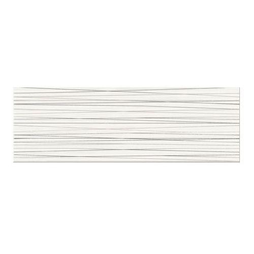 Dekor Ecosta Cersanit 25 x 75 cm white stripes (5902115718083)
