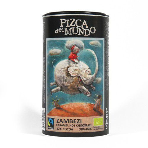 Pizca del mundo Czekolada na gorąco zambezi karmelowa bio 250g fair trade