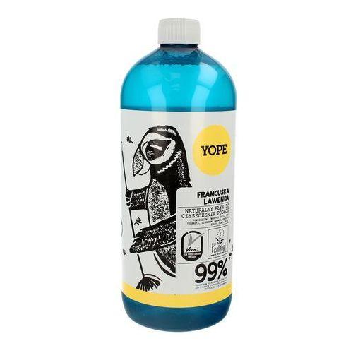 Yope / polska Naturalny płyn do czyszczenia podłóg - francuska lawenda 1000 ml - yope (5906874565063)