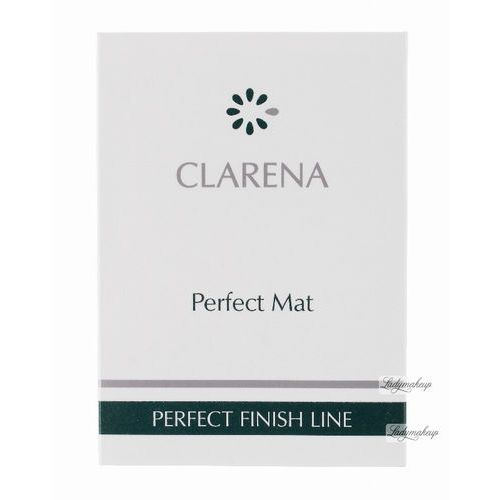 Clarena - Perfect Mat - PERFECT FINISH LINE - Pudrowe bibułki matujące - 1512