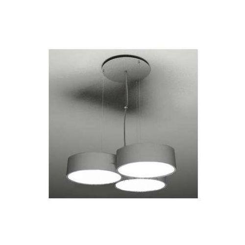 Żyrandol lampa wisząca zama 5514/gx53/sz metalowa oprawa zwis okrągła szary marki Shilo