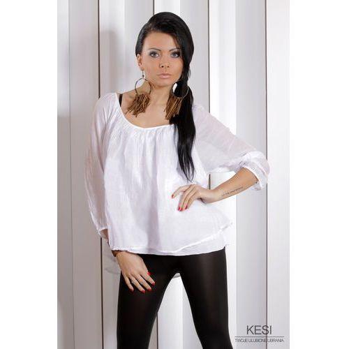 Bluzka W 2664 biały - biały
