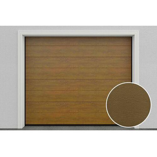 HD01/GLK Brama garażowa segmentowa Złoty dąb DoorHan