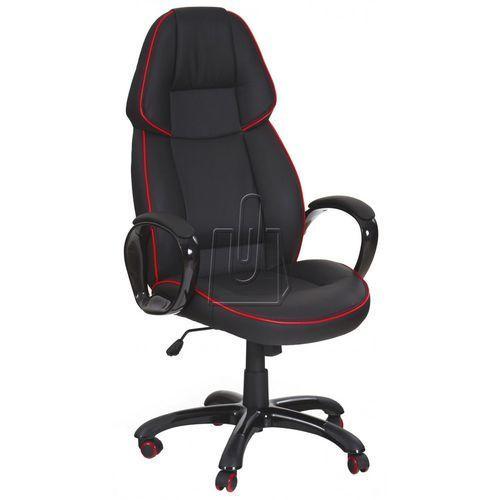 Halmar Fotel gabinetowy rubin czarny - gwarancja bezpiecznych zakupów - wysyłka 24h
