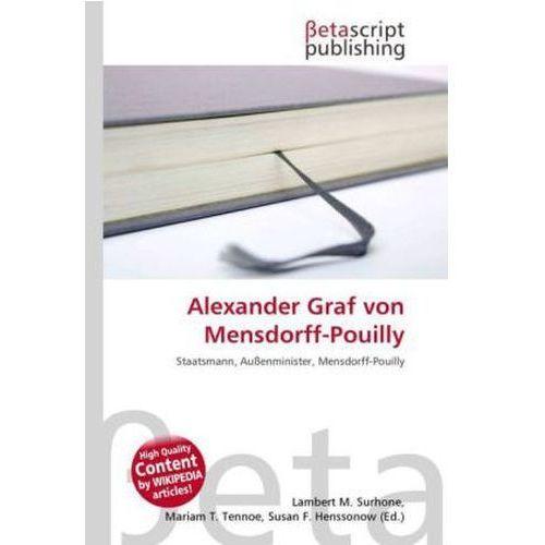 Alexander Graf von Mensdorff-Pouilly