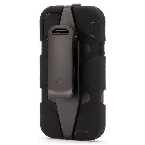 Griffin  survivor all-terrain - pancerne etui iphone se / iphone 5s / iphone 5 (czarny)