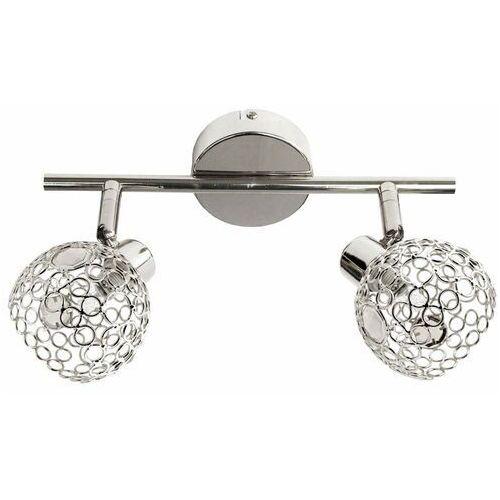 Candellux aron listwa 2x40w g9 chrom kryształ transparent 92-12326 - autoryzowany partner candellux, automatyczne rabaty.