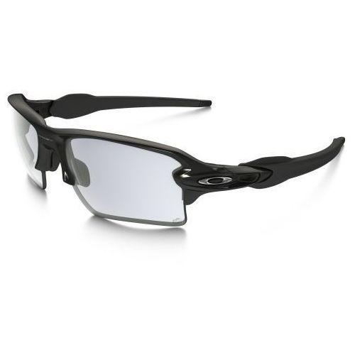 Okulary Oakley Flak 2.0 XL Polished Black Clear Black Iridium Photochromic OO9188-50