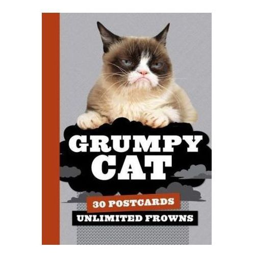 Grumpy Cat Postcard Book: 30 Postcards, Unlimited Frowns (9781452141800)