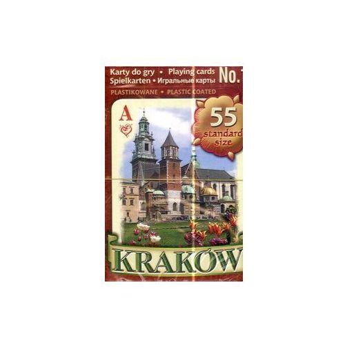 Kraków/karty do gry/nr 1/brązowe/pojedyncza talia/, AM_5900308515082