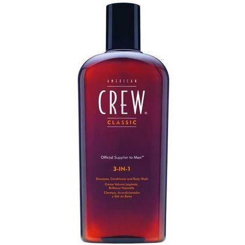 American crew  classic 3-in-1 - szampon, odżywka, żel pod prysznic 250ml
