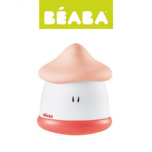 Lampka nocna LED przenośna Pixie Soft 200h świecenia Coral, Beaba