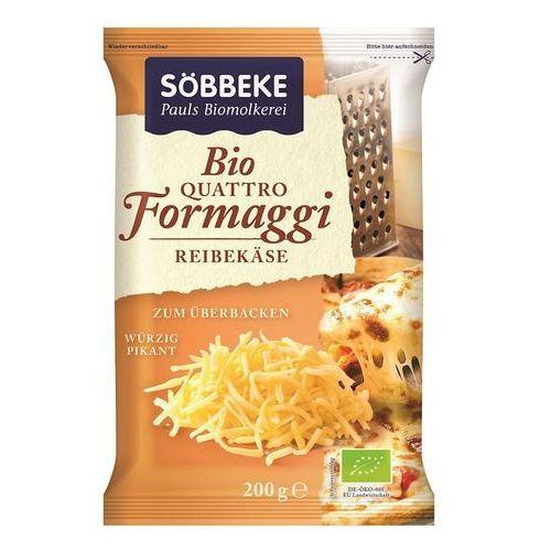 Mix czterech tartych serów (48% tłuszczu w suchej masie) bio 200 g - sobbeke marki Sobbeke dystrybutor: bio planet s.a., wilkowa wieś 7, 05-084 leszno k.