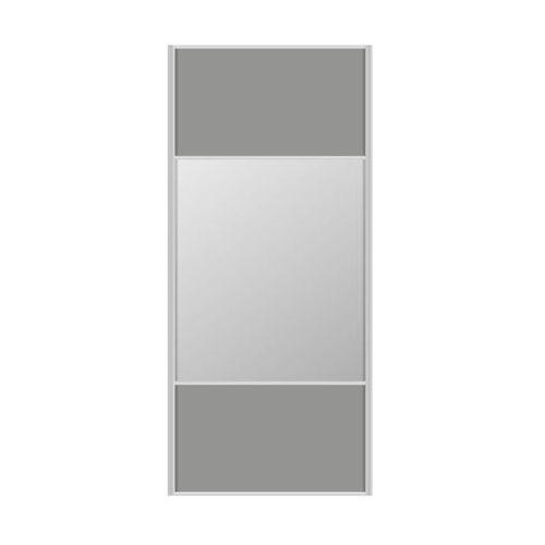 Drzwi przesuwne do szafy SZARE/LUSTRO 98.7 CM SPACEO (5901171243096)