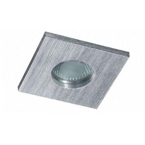 Bpm lighting Oczko kwadratowe su classic aluminium szczotkowane gu5.3 ip65, 3006