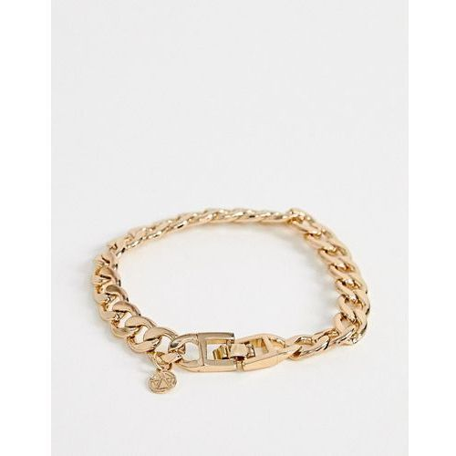 Chained & Able gold chunky chain bracelet - Gold