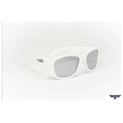 BABIATORS Okulary przeciwsłoneczne dla Dzieci Aces - Wicked White Mirrored Lenses, 7 - 14 lat, towar z kategorii: Okulary przeciwsłoneczne dla dzieci
